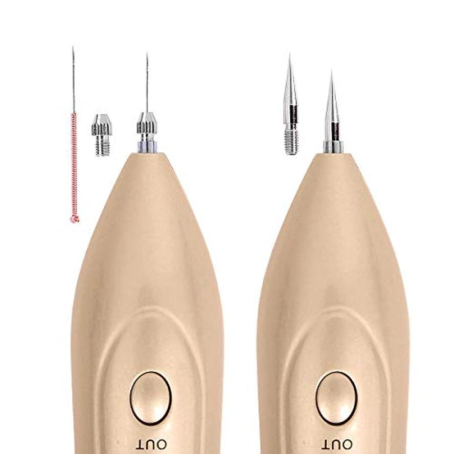 バン免疫する上げる皮膚レーザーそばかすの除去機、肌のラベルを削除するには、LEDのツールとの電気美容ペンポータブル、ダークスポット、そばかす、ほくろやタトゥセーフUSB充電式美容を削除します