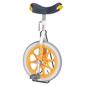 ユニサイクル 子供用 一輪車 14インチ オレンジ 4902