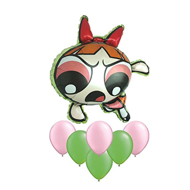 The Powerpuff Girlsブロッサムバルーンブーケ7 pc