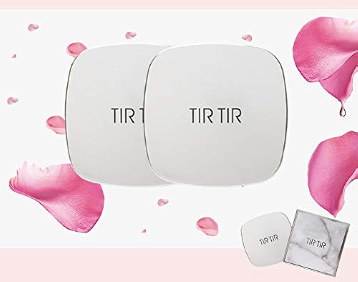 層薄める器官[TIR TIR] ティルティール水鉱クッション SPF50 + PA +++ 15g / TIR TIR WATER BLOSSY CUSHION 15g [並行輸入品] (21号 LIGHT PINK BEIGE)