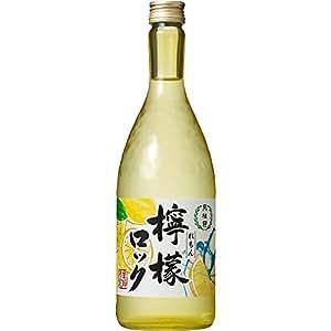 【レモン/飲み飽きない味わい】日本酒ベース すきっと爽やかな飲み口 檸檬ロック 月桂冠 [ リキュール 720ml ]