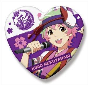 アイドルマスターSideM ハート缶バッジ 猫柳キリオ