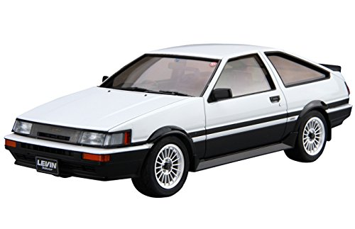 青島文化教材社 1/24 ザ・モデルカーシリーズ No.17 トヨタ AE86 カローラレビンGT-APEX 1985 プラモデル