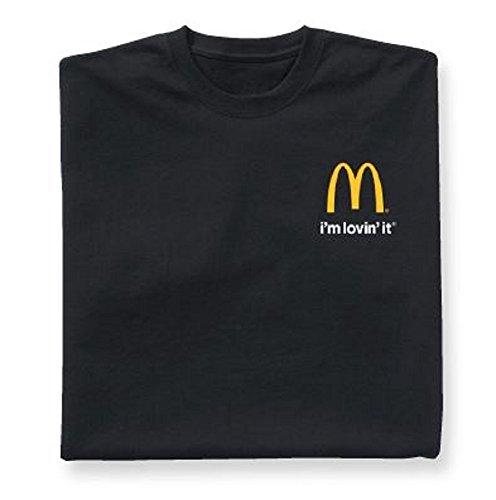マクドナルド i'm lovin it Tシャツ ブラックM [並行輸入品]