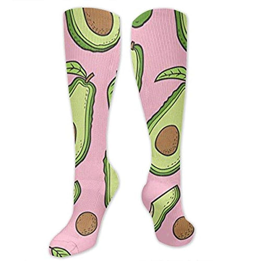 対応件名曇った靴下,ストッキング,野生のジョーカー,実際,秋の本質,冬必須,サマーウェア&RBXAA Thanksgiving Avocado Socks Women's Winter Cotton Long Tube Socks Cotton...