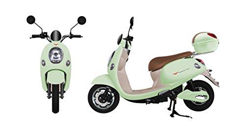 電動バイク 電動スクーター yuppe2(ユッペ2) アップルグリーン ツバメイータイム