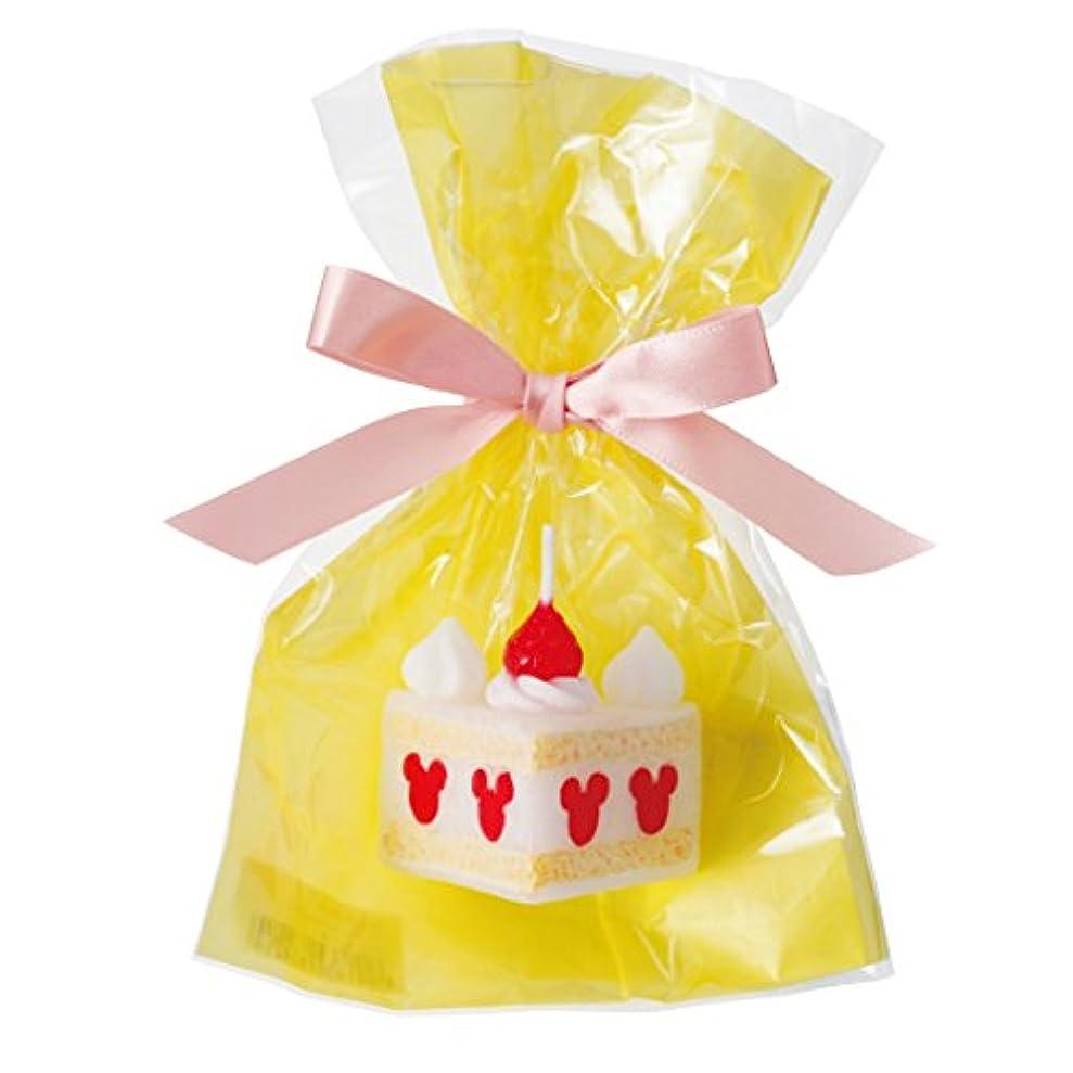 ジュニアアルファベット順朝食を食べるディズニースイーツキャンドル 「 ショートケーキ 」
