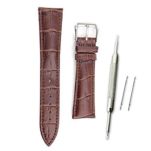 [해외]11Straps 폭 18mm 가죽 제품 시계 벨트 시계 스프링 봉 스프링 봉 분리 된 교환 세트/11Straps Width 18mm Genuine leather watch belt Watch band Spring rod Spring bar with detachable exchange set