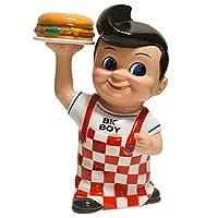 BIGBOY ビッグボーイ ボビー コインバンク 貯金箱 フィギュア ハンバーガー レストラン キャラクター カンパニー グッズ プレゼント ギフト