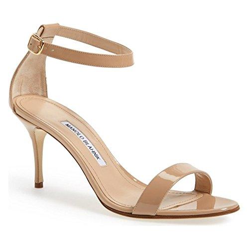 (マノロブラニク) MANOLO BLAHNIK レディース シューズ・靴 サンダル・ミュール 'Chaos' Ankle Strap Sandal [並行輸入品]