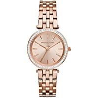 Michael Kors Women's MK3366 Darci Rose Gold-Tone Watch
