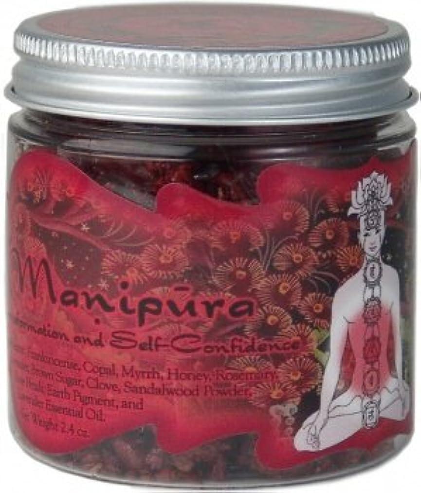 年齢ジャケット鋭く樹脂Incense Solar Plexus Chakra Manipura – self-confidenceと変換 – 2.4oz Jar