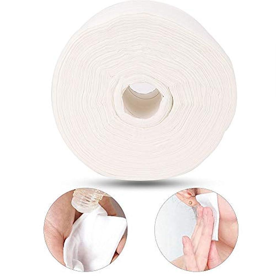 くさび追放する直径50 m使い捨てクリーニングフェイスタオル綿ワイプパッド