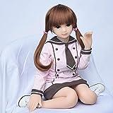 COSDOLL ラブドール 65cm 大きい胸 高級TPE 実体人形 ミニ 超かわいい Sex doll 男性用ラブドール 実体人形 内蔵可動骨節 携帯やコレクションがやすい 送料無料 [成人]