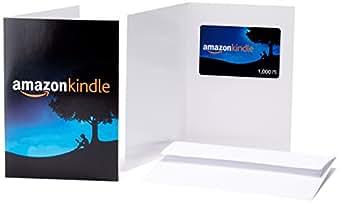 Amazonギフト券(グリーティングカードタイプ) - 1,000円 (Amazon Kindle)