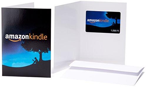 Amazonギフト券(グリーティングカードタイプ ) - 1,000円 (Amazon Kindle)