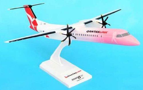 1: 100 スカイマークス QantasLink Dash 8-400 Pink Colors (並行輸入)