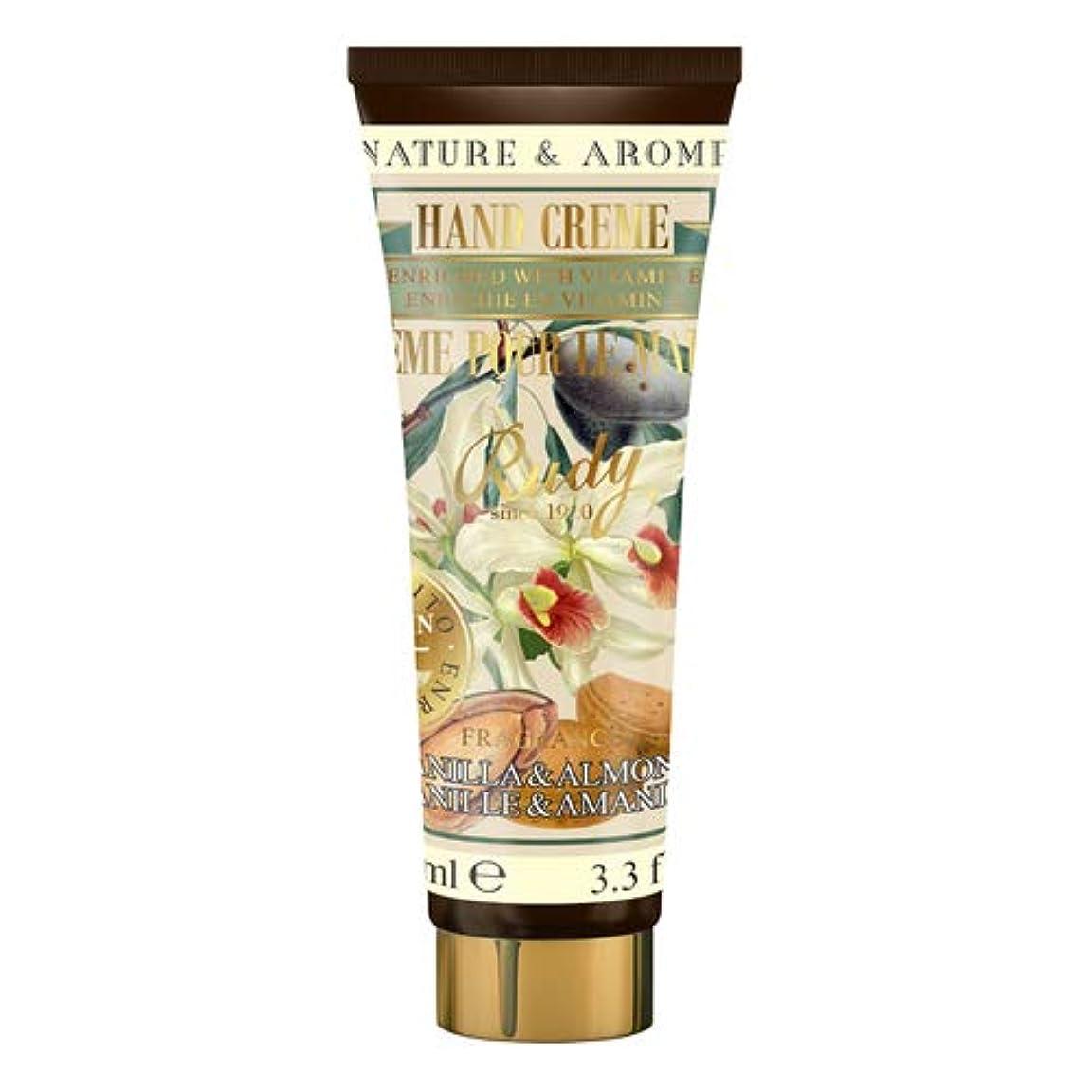 過激派透過性元気なRUDY Nature&Arome Apothecary ネイチャーアロマ アポセカリー Hand Cream ハンドクリーム Vanilla & Almond バニラ&アーモンド