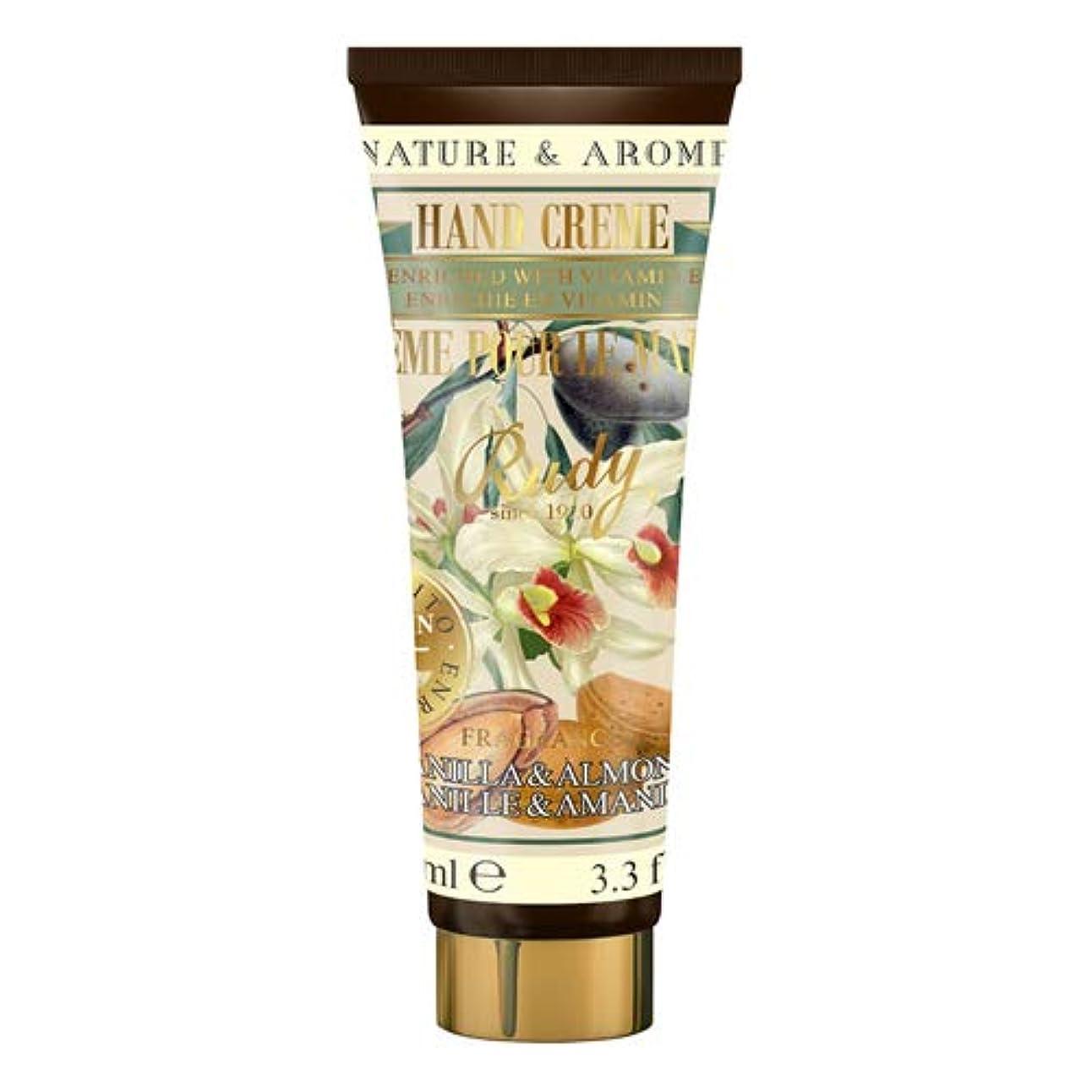RUDY Nature&Arome Apothecary ネイチャーアロマ アポセカリー Hand Cream ハンドクリーム Vanilla & Almond バニラ&アーモンド