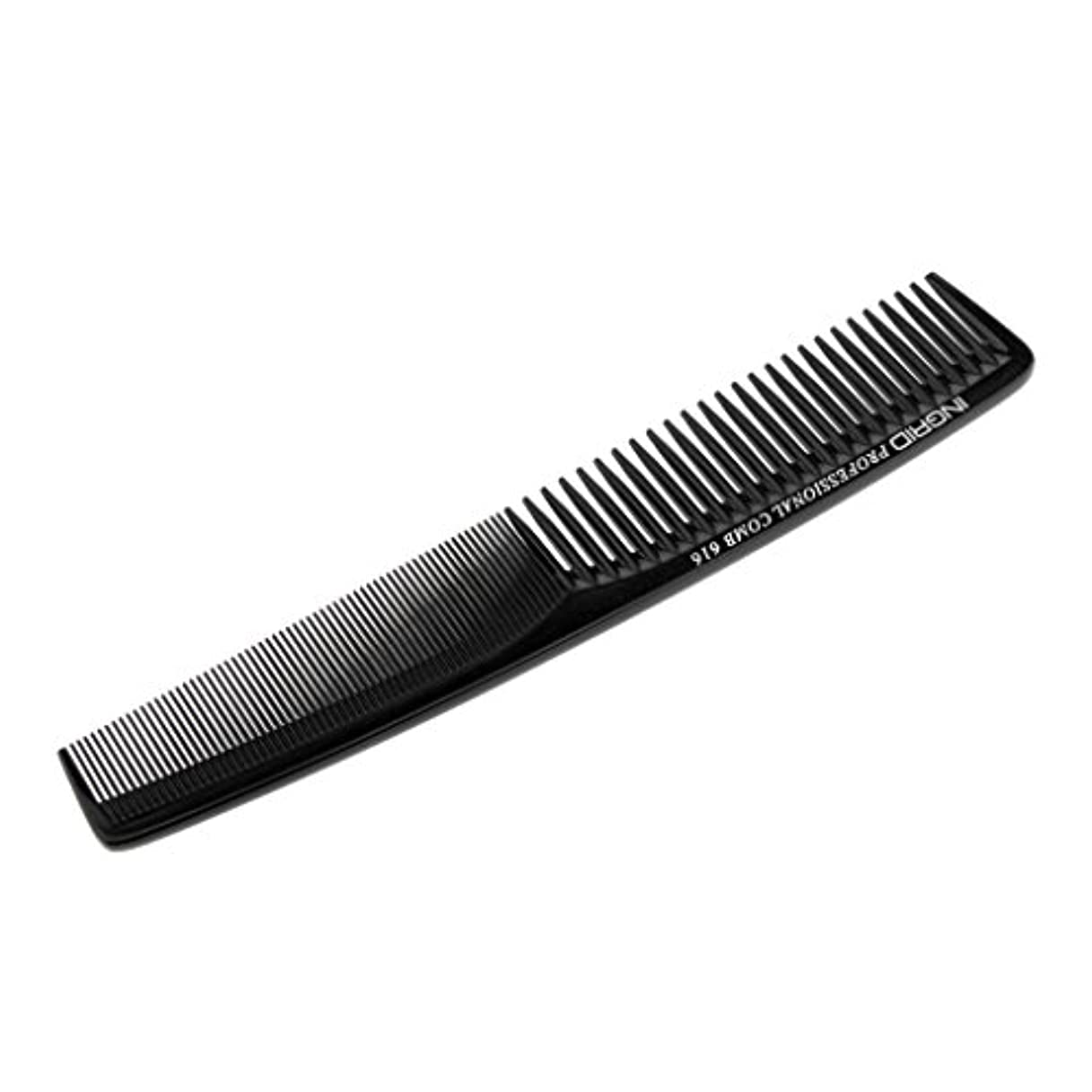 大破繰り返す肌寒いHomyl ヘアカットコーム 櫛 コーム 理髪店 静電気防止 全5色  - ブラック