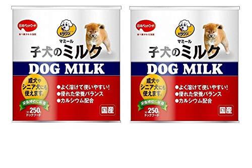 【2個まとめ買い】ビタワン マミール 子犬のミルク 250g