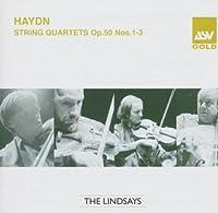 String Quartets Op 50 1-3