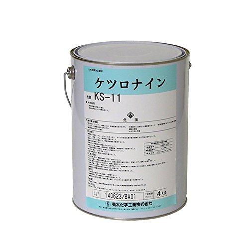 菊水化学工業 ケツロナイン 白(KS-11)  4kg 【結露対策 結露防止】