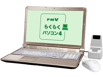 富士通 ノートパソコン LIFEBOOK AH/R4H らくらくパソコン(Office Personal 搭載) FMVAR4H