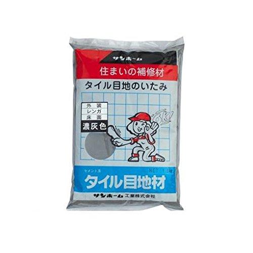 RoomClip商品情報 - 【キャンセル不可】GL18316 1.3kg タイル目地材(濃灰色)