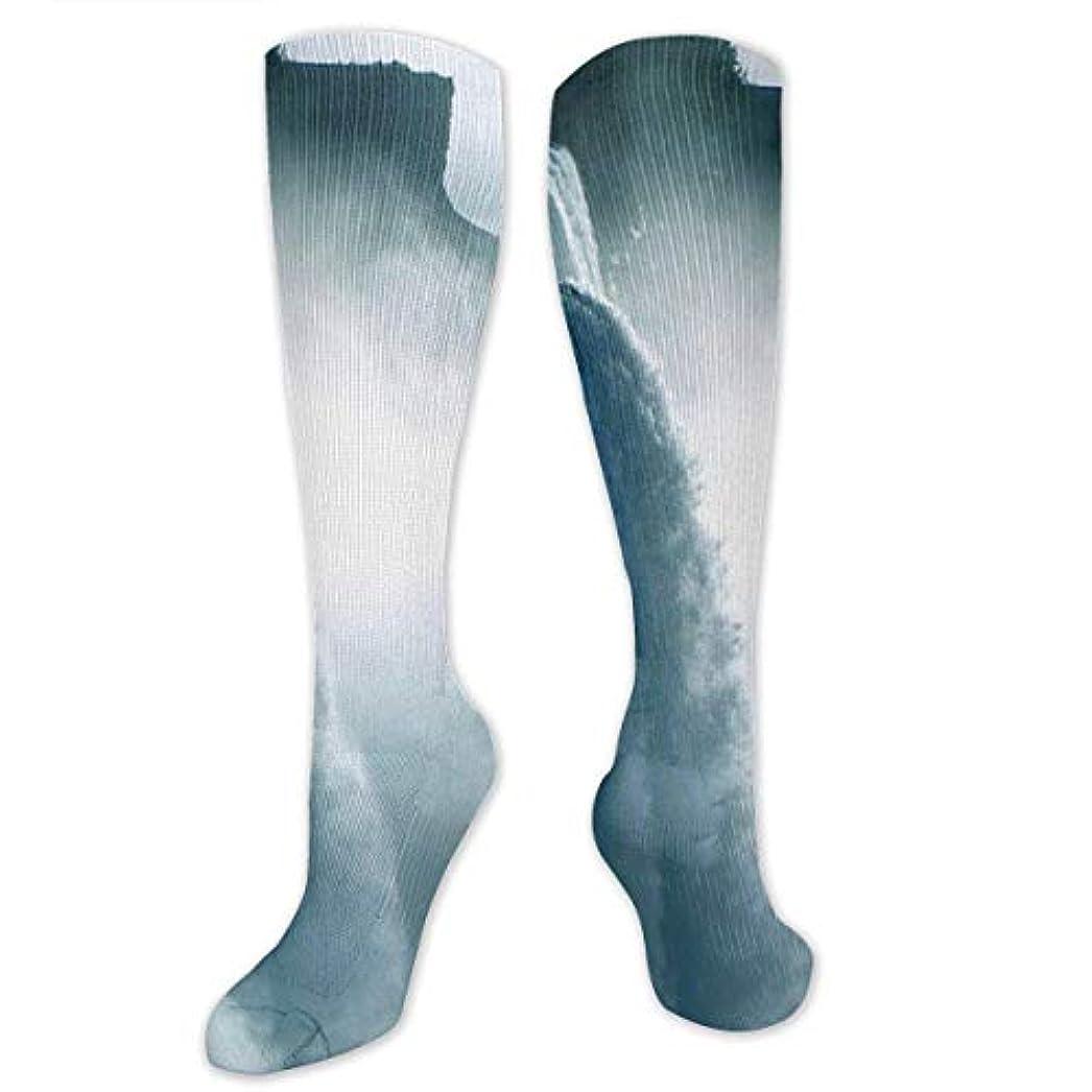 暴動スリル令状靴下,ストッキング,野生のジョーカー,実際,秋の本質,冬必須,サマーウェア&RBXAA Niagara Waterfall Canada Socks Women's Winter Cotton Long Tube Socks...