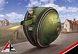 アーセナルモデル 1/72 BT-102 スフィアロイド 装甲水陸両用オートバイ プラモデル ASEAE72103