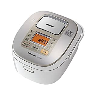 パナソニック IHジャー炊飯器 5.5合 ダイヤモンド銅釜 ホワイト SR-HB104-W