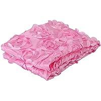 新生児のソフトラップ幼児寝台用毛布子供用写真赤ちゃんの装飾小道具ブランケットに最適なローズブランケット(ピンク)