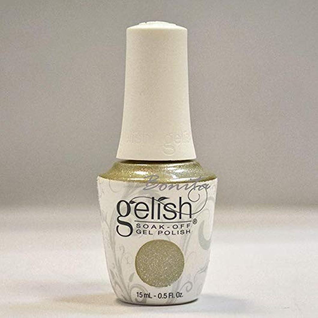 配当組み込む議会Harmony Gelish Gel Polish - Give Me Gold - 0.5oz / 15ml