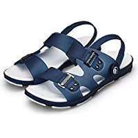 ZOZOE Men Casual Sandals Anti-Slip Wear-Resistant Fast Dry Breathable Lightweight Shoes