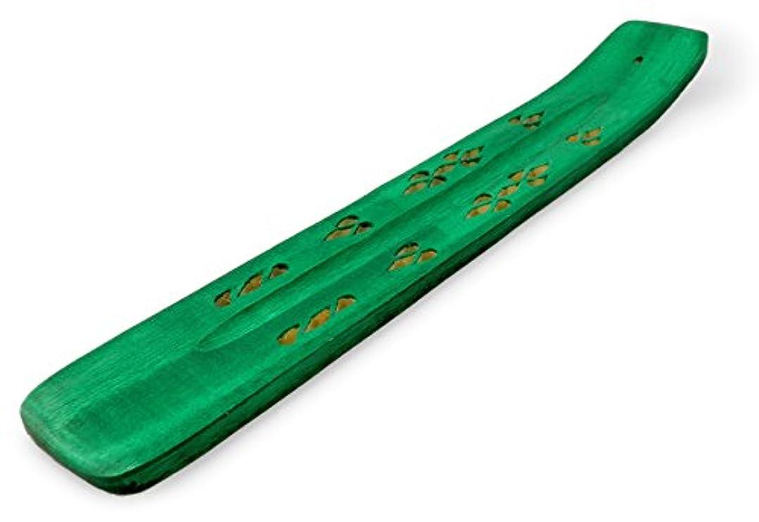 子供時代決めますボート木製 香立て 透かし彫り(A)【気軽に楽しむアロマテラピー】【癒し?ストレス解消?リラックス?雰囲気作り】インド?インドネシア?アジアのスティック香専用