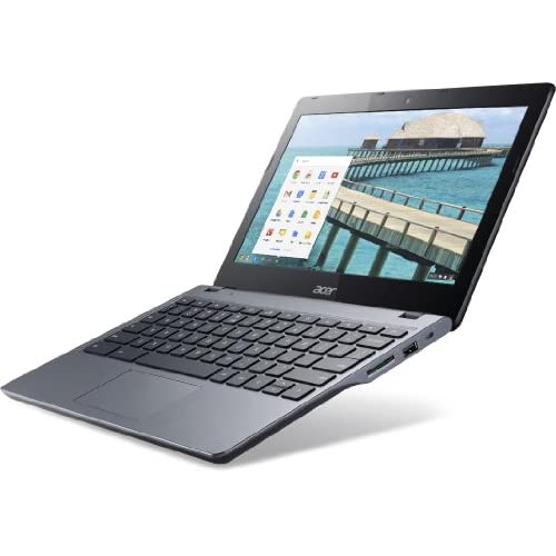 Acer C720 Chromebook クロームブック (Intel Celeron 1.4GHz/2GB/SSD16GB/11.6inch/Chrome OS/Granite Gray) 並行輸入品