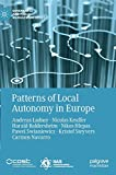 Patterns of Local Autonomy in Europe (Governance and Public Management) 画像