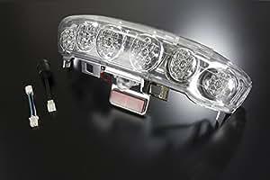 バイクパーツセンター バイク用LEDテール アセンブリ リレー付き ヤマハ マジェスティ/C SG03J 3117