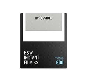IMPOSSIBLE ポラロイド用インスタントフィルム B&W FILM FOR 600 [並行輸入品]