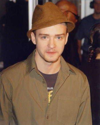 ブロマイド写真★ジャスティン・ティンバーレイク Justin Timberlake/帽子