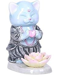 Pacific Giftware マスター ミュー瞑想 ラブ セラミック お香ホルダー