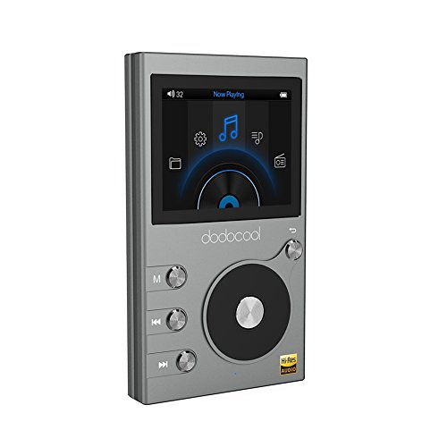 ハイレゾ プレイヤー Hi-Res 内蔵8GB FMラジオ ボイスレコーダー MicroSDカード対応 256GB拡張可能