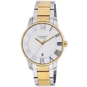 [ティファニー]Tiffany&Co. 腕時計 Atlas Dome シルバー文字盤 K18YG/SSケース自動巻 Z1810.68.15A21A00A メンズ 【並行輸入品】