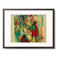 ロベール・ドローネー Robert Delaunay 「Etude pour La grande portugaise」 額装アート作品