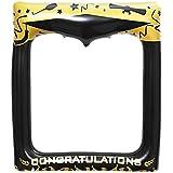 Amosfun 卒業式用膨らませ式写真フレーム 自撮り用フレーム ブローアップ写真ブース小道具 高校大学卒業パーティー用品 72 x 61cm