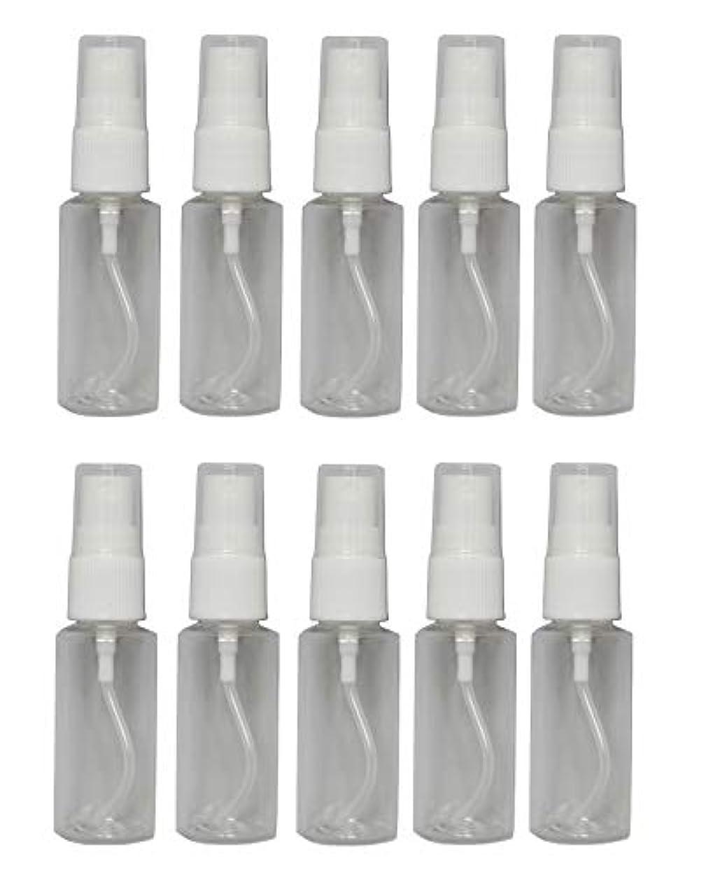 不透明な抑制詩ミニ スプレー 空ボトル 25ml × 10本 セット 空スプレー 詰め替え容器 プラスチック スプレー ボトル 0038