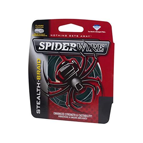 SPIDERWIRE(スパイダーワイヤー) PEライン ステルスブレイド 125yd 10lb モスグリーン SCS10G-125