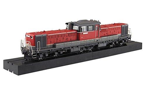 アオシマ 1/45 トレインミュージアムOJ No.03 ディーゼル機関車 DD51 更新色 スーパーディティール エッチング/メタルパーツ付属