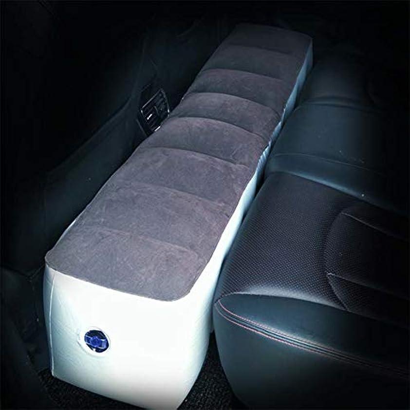 カタログ重量スマート車のマットレスインフレータブルバックシートギャップパッドエアベッドキャンプインフレータブル用車用睡眠休息と親密な動き - エアポンプ付き
